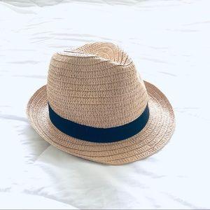 Paper Black Band Fedora Hat